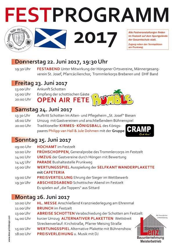 Pressebericht zum Fest 2017 - Trommler-, Pfeifer- und Fanfarencorps ...